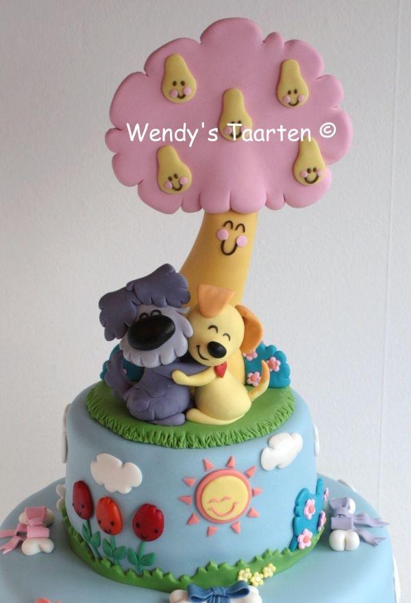 Birthday Happy Komal Cake