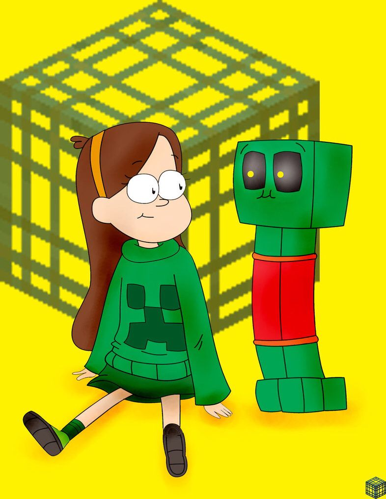 If any of u watch gravity falls this is Mabel dating a creeper