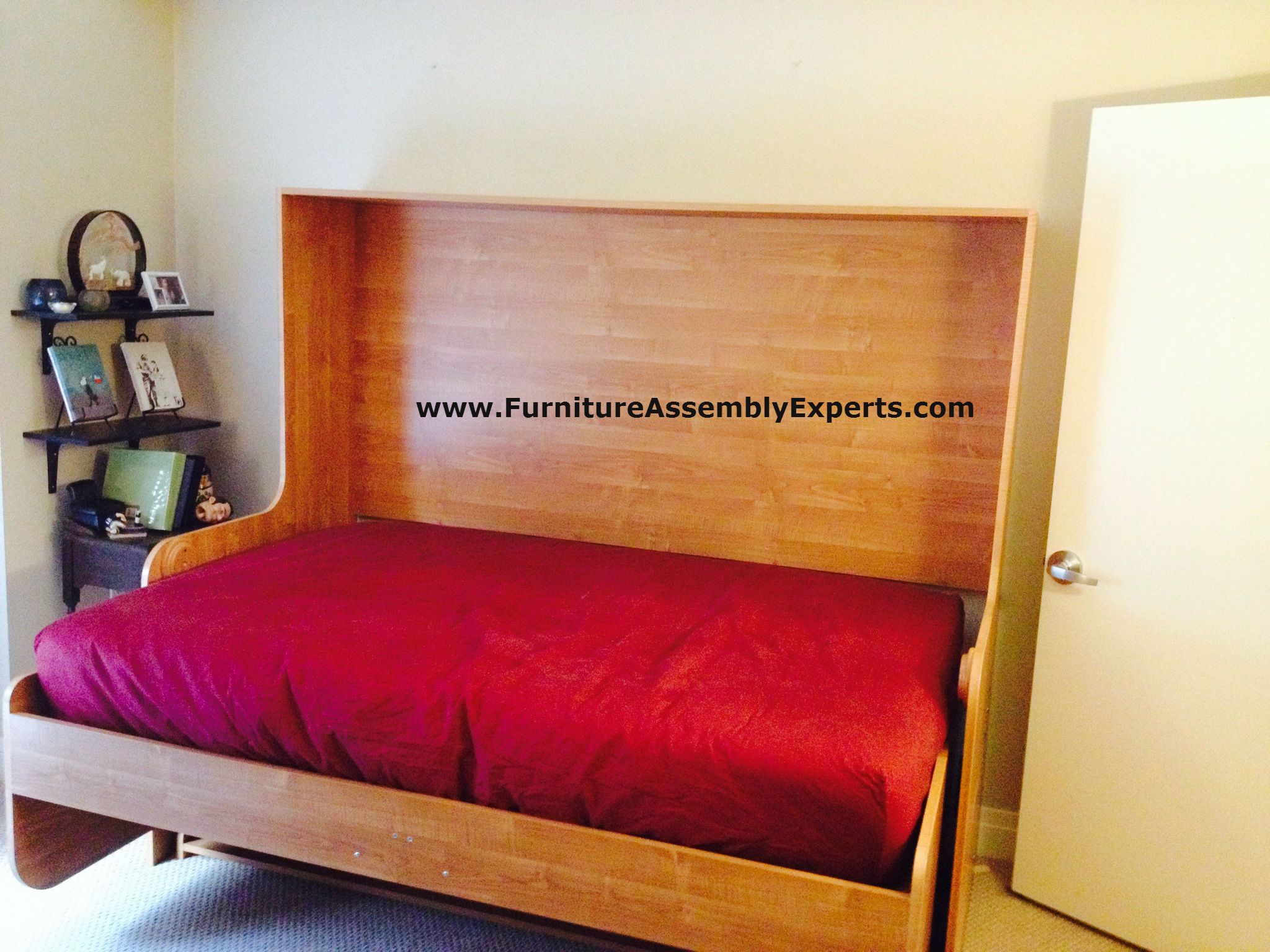 Murphy Bed From Bredabeds Com Assembled In Northern Virginia By Furniture Assembly Experts Llc Murphy Bed Furniture Assembly Bed