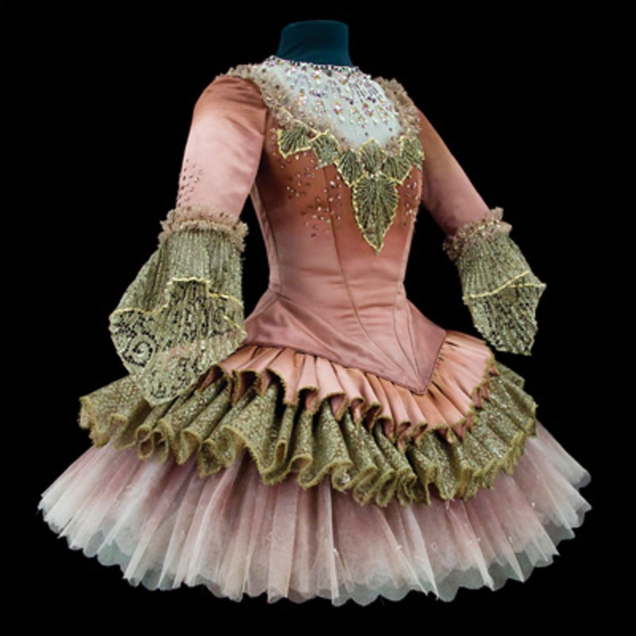 Costume for the Lilac Fairy Queen in Sleeping Beauty, Teatro alla Scalla, Milan, 1966.
