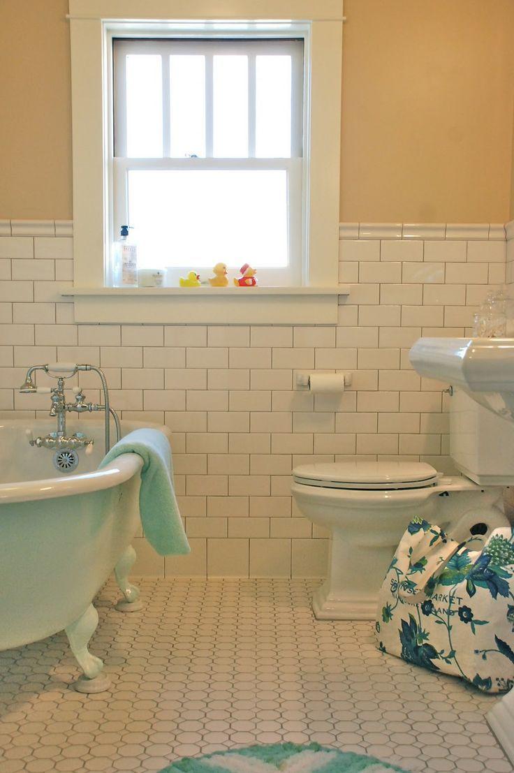 American Bath: Classic Craftsman. 1912 Bungalow Bathroom Restoration