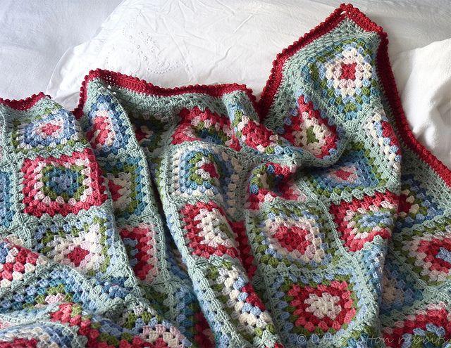 Me Old China\' blanket | Ganchillo