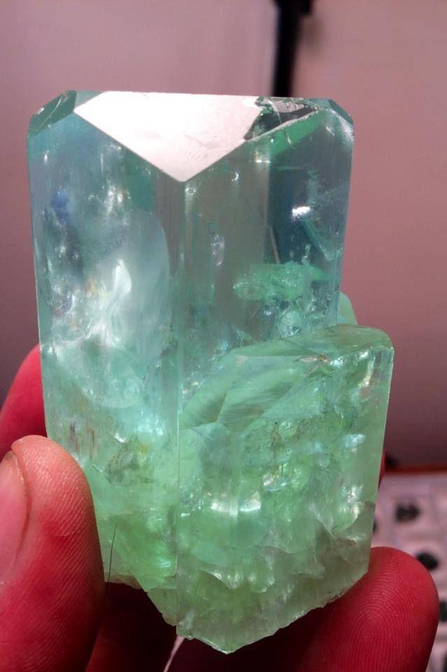 LARGE Six Inch Natural Polish Morocco Selenite Obelisk Crystal Gemstone Gem