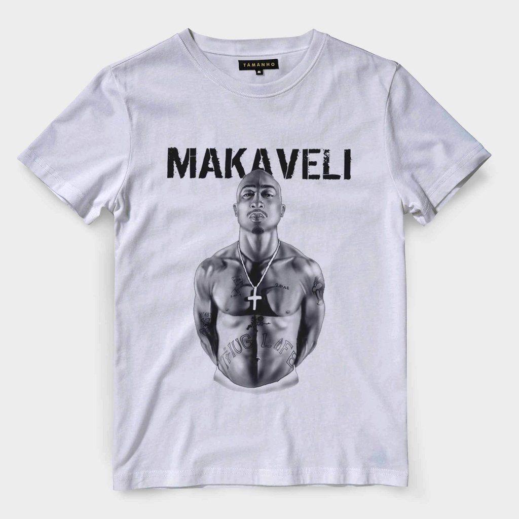90fec92ed4 camiseta tupac shakur makaveli estampa de rap barata