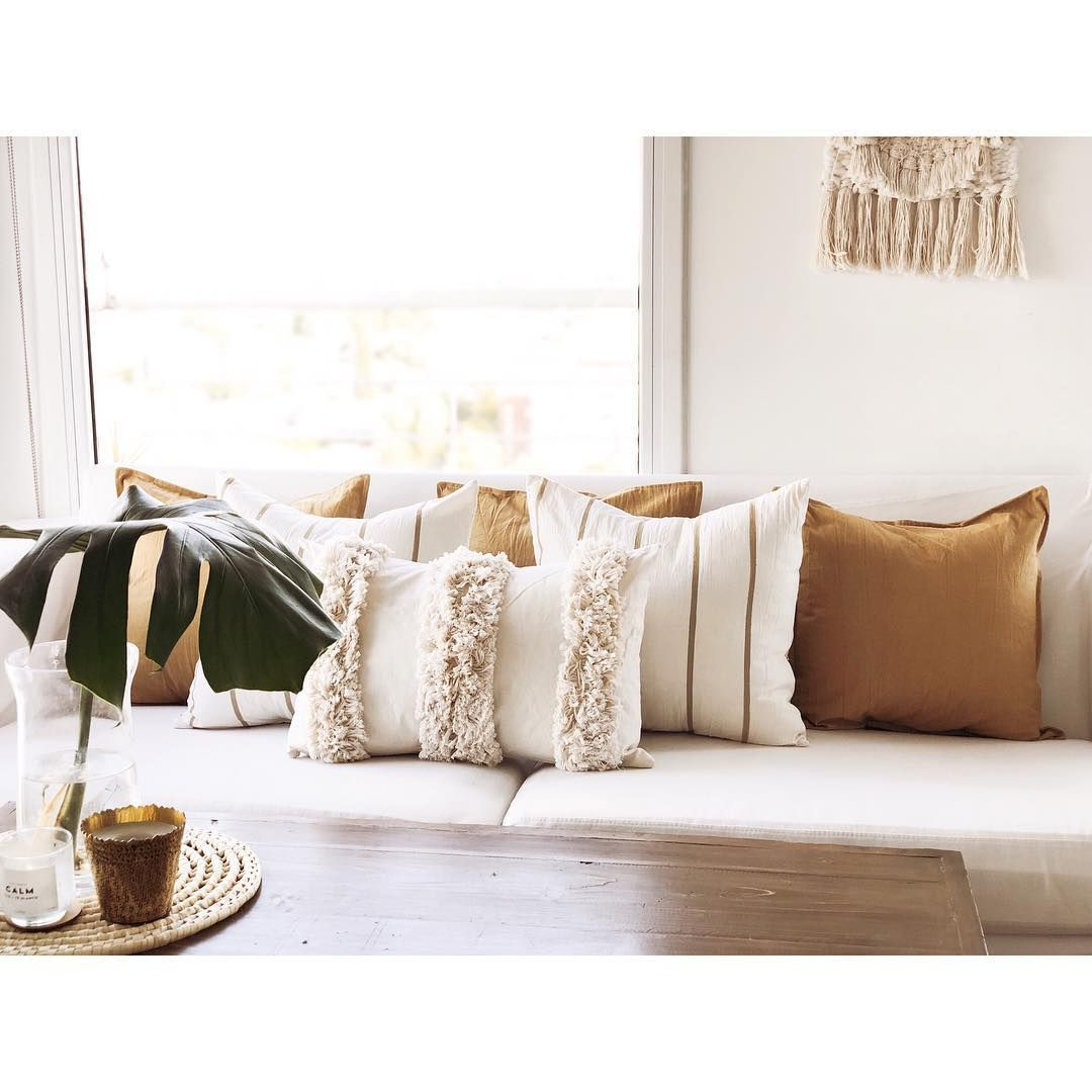30+ Decoracion cojines sofa beige trends