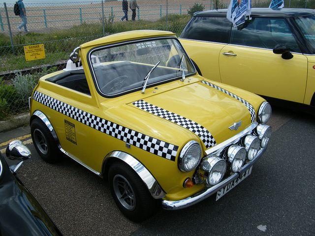 finest selection ba136 9afe7 1978 Mini Yellow Cab - Shorty Taxi | Mini Cooper | Mini ...