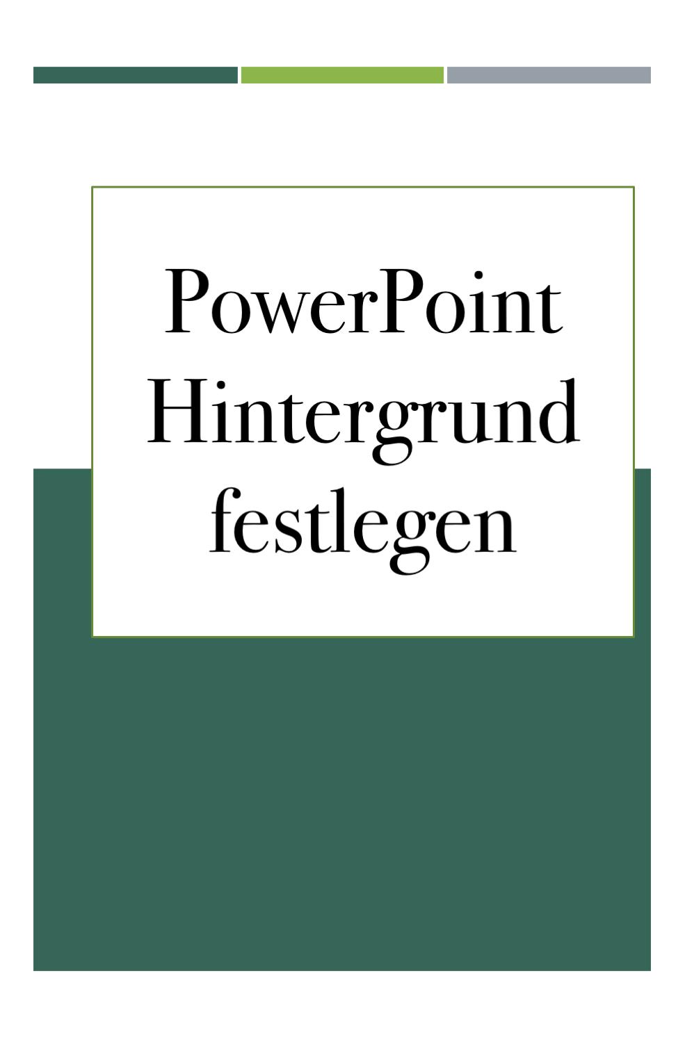 Pin von fairy1234 auf Technik/IT | Power point, Powerpoint ...