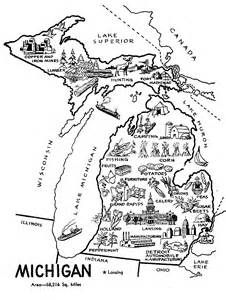 Michigan Coloring Sheets Yahoo Image Search Results Michigan