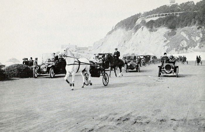 Great Highway, Ocean Beach  SF.CA circa   1910