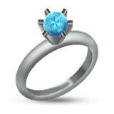 Diamond Ring Emoji Rings Emoji Wedding Rings