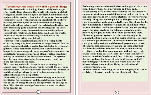 للثانوية العامة برجراف اول بوكلت تجريبى مقال عنه ترجم واعمل منه برجراف Education Center Global Village Blog
