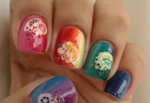 Fimo Nail Art Easy Nail Designs For Short Nails Topicbistro Nail