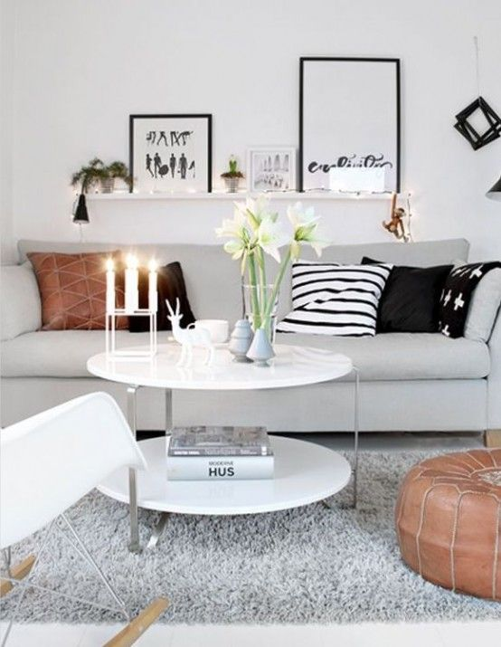 46 Cool Scandinavian Living Rooms - Decorating Ideas ...