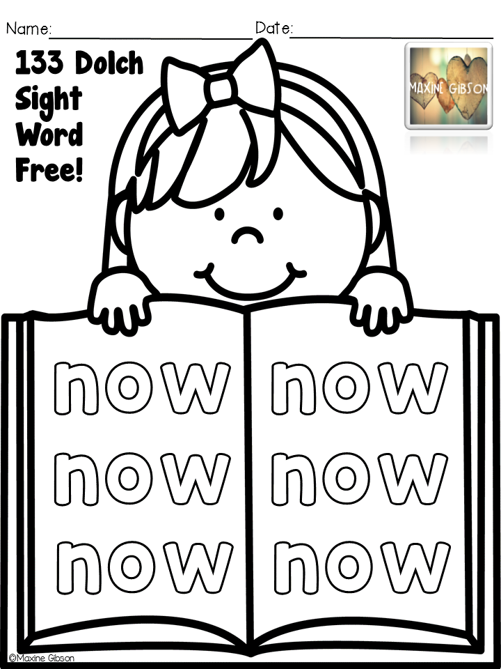 first grade sight words dolch