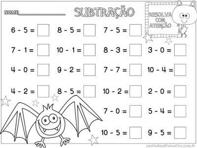 Outubro 2015 - Blog Cantinho Alternativo | Matemática | Pinterest ...