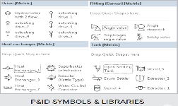 p&id symbols & libraries process flow diagram, microsoft visio, microsoft  office, libraries,
