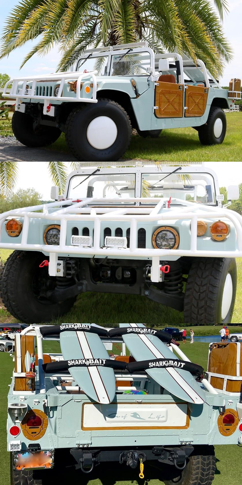 This Hummer Was Made For Cruising The Beach Hummer Beach Cars
