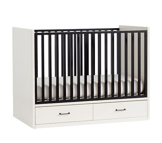 Grayson Storage Crib With Images Cribs Pottery Barn