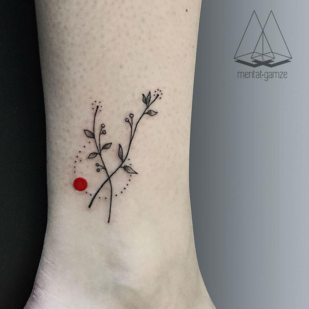 Turkish artist creates amazing minimalist tattoos for Minimal art tattoo