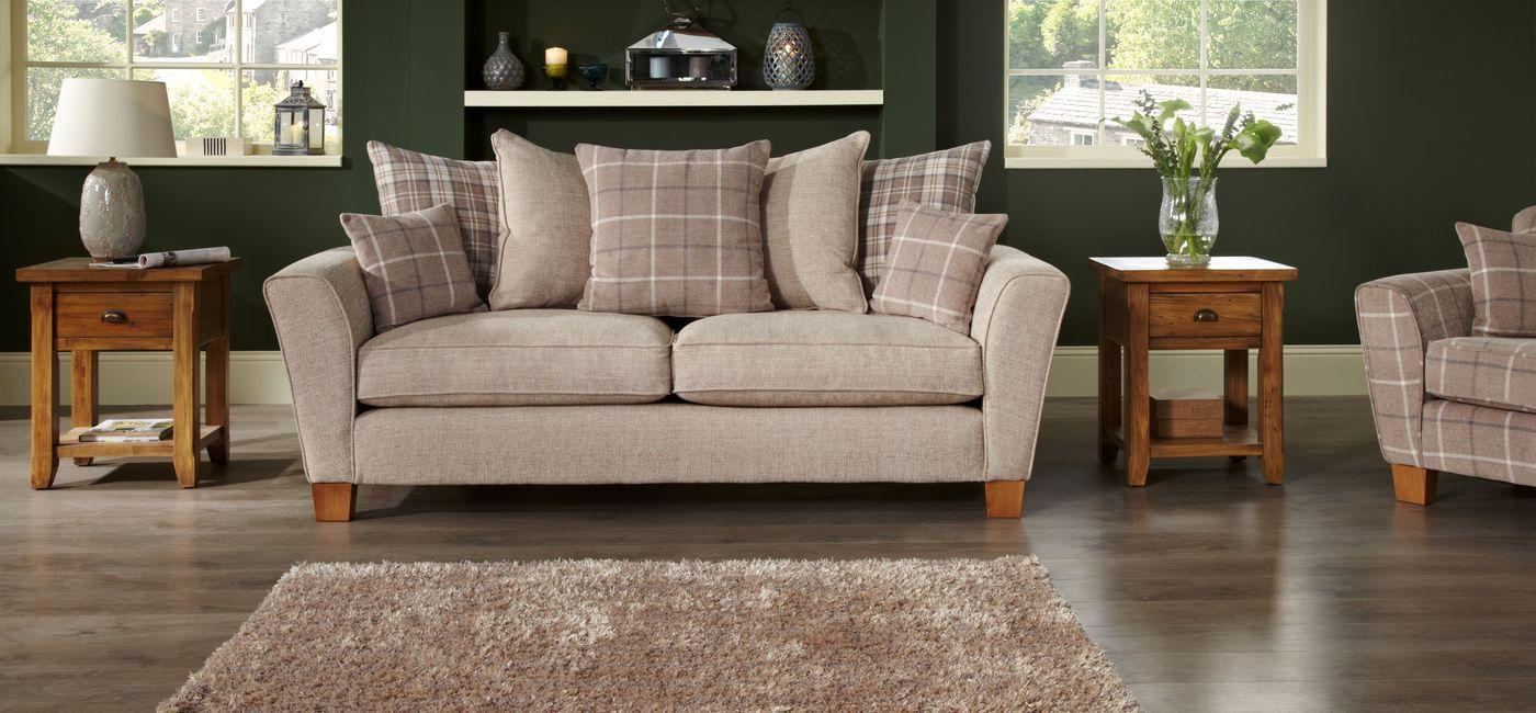 Slipcovers For Sofas Lois Seater Sofa Scatter Back