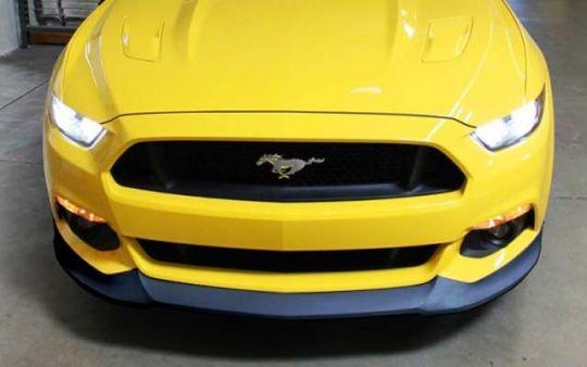 Front Lip Spoiler For 2015 2017 Mustang Mustang 2017 Mustang