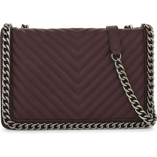8e738a119f3 Aldo Greenwald faux-leather shoulder bag ( 59) ❤ liked on Polyvore  featuring bags