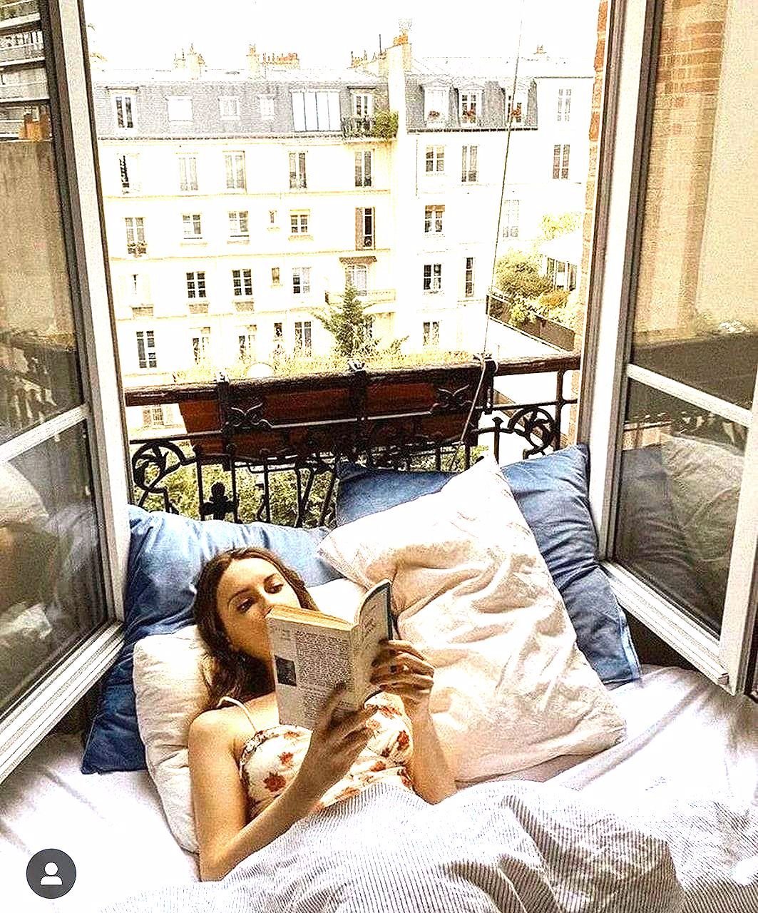 Photo of Mädchen, Liebe, hübsch, Buch, Herbst, Paris, gemütlich, Lesen, Mädchen girly Mädchen, Buch b …