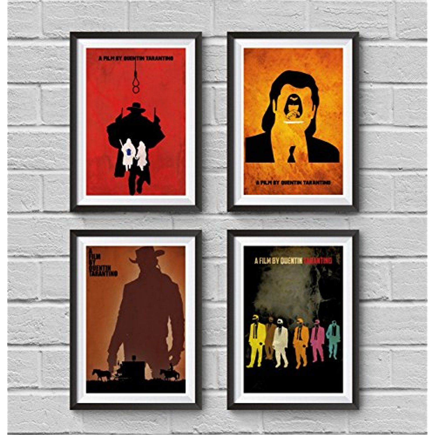 Pulp Fiction 1994 Giclee CANVAS Wall Art Print *Choose your size