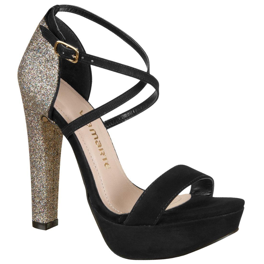 94af578b0 Sandália Via Marte 12-14907 - #Glitter #Brilho | Shoes in 2019 ...
