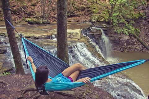 Hammocks you can set up in seconds!