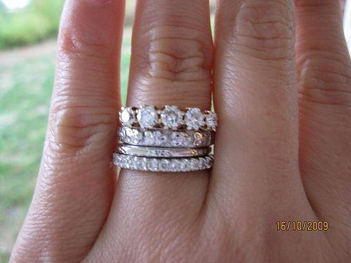 Stacked Diamonds Diamond Bands Circle Diamond Diamond