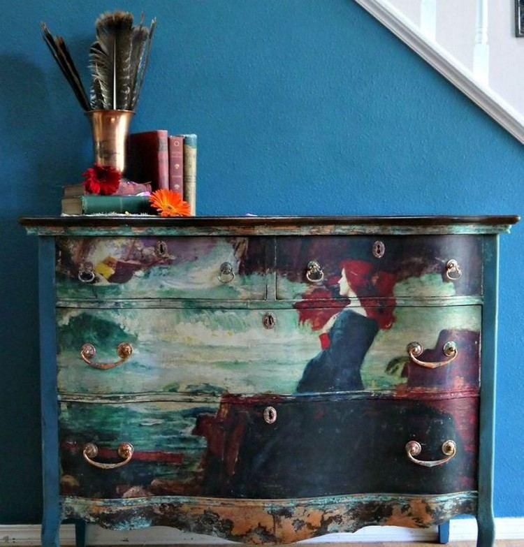 Relooker meuble ancien  astuces déco et photos inspirantes Buffet