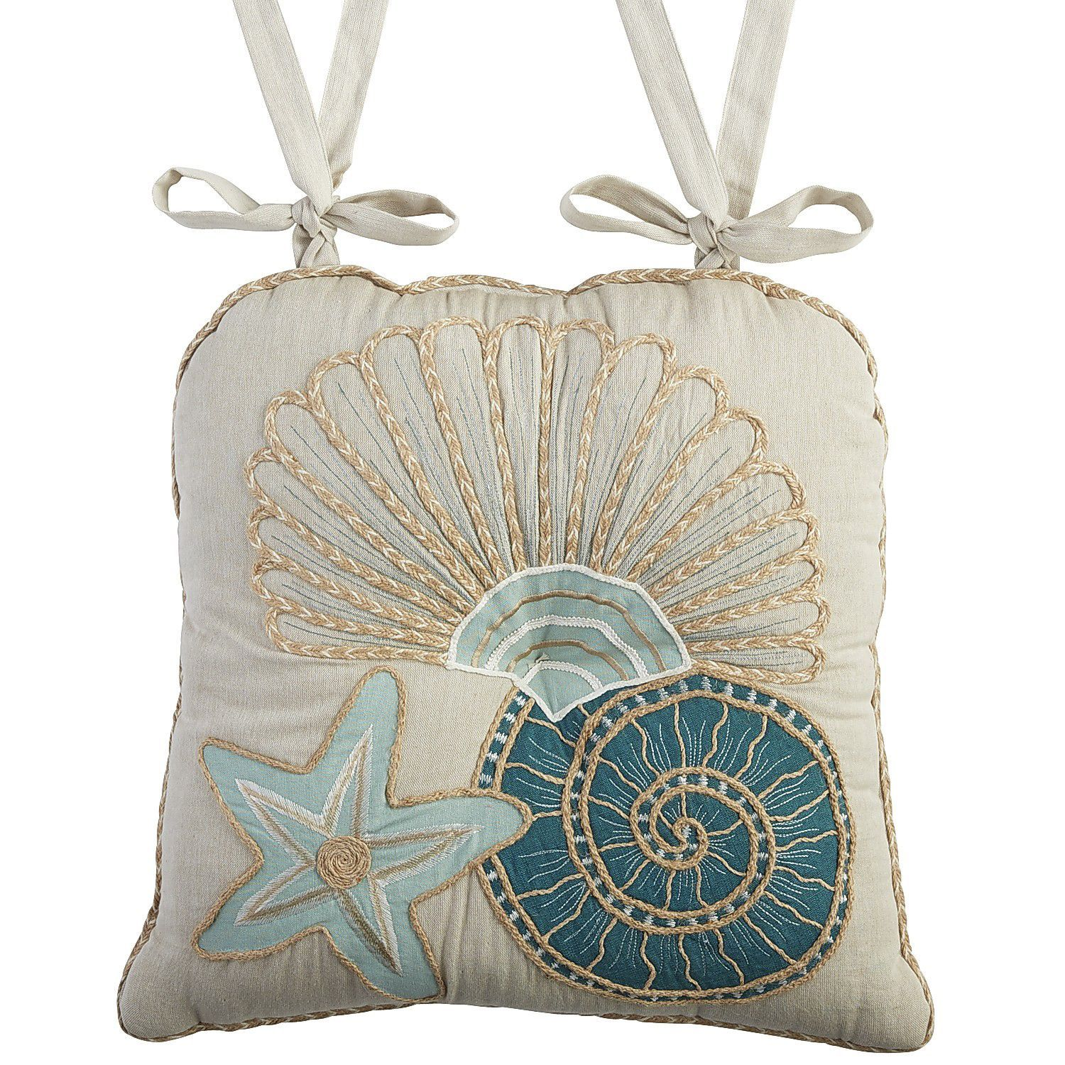 Sea life dining chair cushion dining chair cushions dining chairs