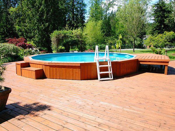 De quita y pon piscinas desmontables huerta - Escalera piscina desmontable ...