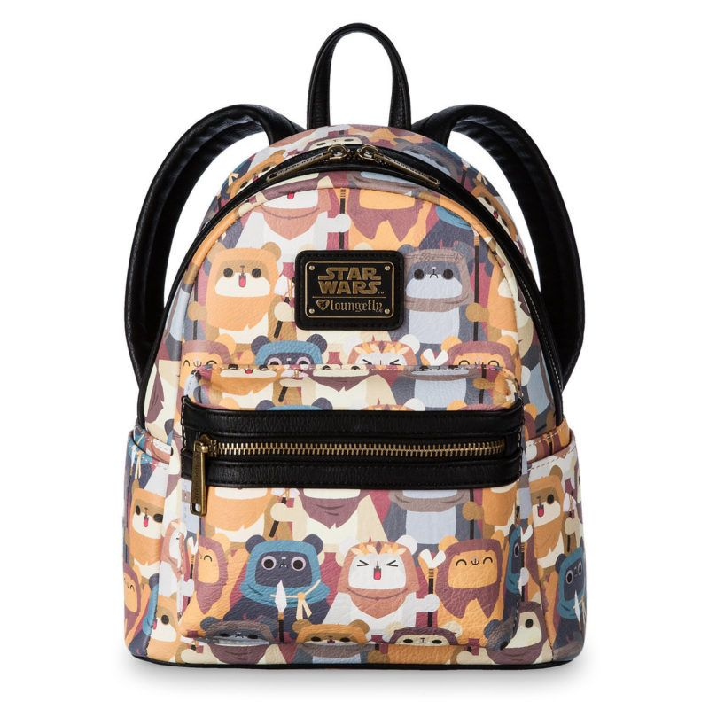 c6e6fd4c210 Loungefly x Star Wars Ewok mini backpack at Shop Disney ⭐️The Kessel Runway  ⭐ Star Wars fashion ⭐ Geek Fashion ⭐ Star Wars Style ⭐ Geek Chic ...