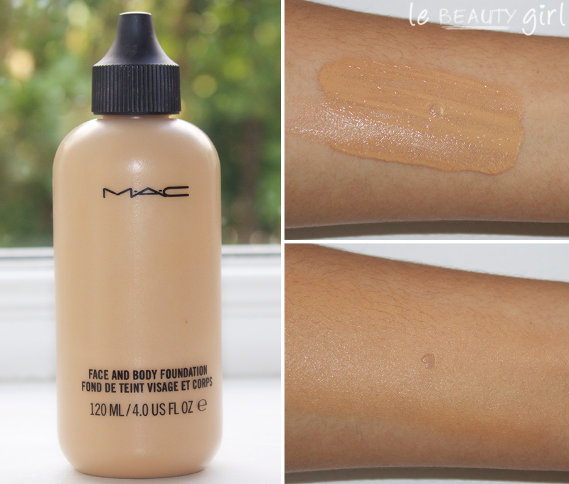 MAC Face and Body Foundation Body foundation, Best