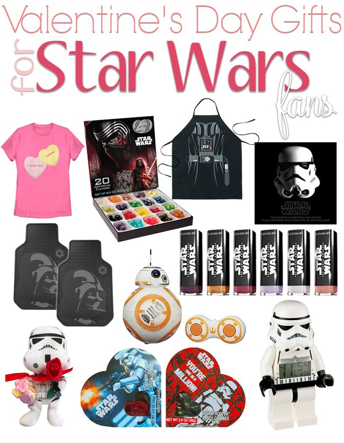 Valentineu0027s Day Gifts For Star Wars Fans