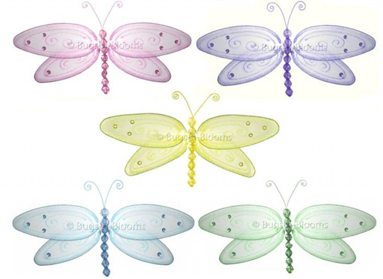 Dragonfly Bedrooms | Wall Hanging Decorations | Nursery Dragonflies ...