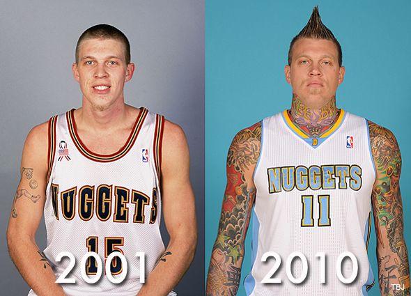 Damn Birdman Sports Chrisersen Chriserson Basketball Tattoos