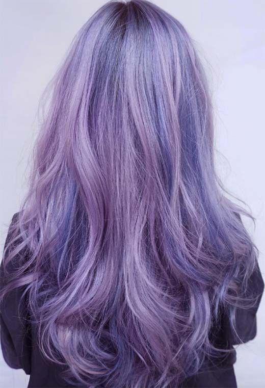 59 Lovely Lavender Hair Color Shades & Dye Tips -