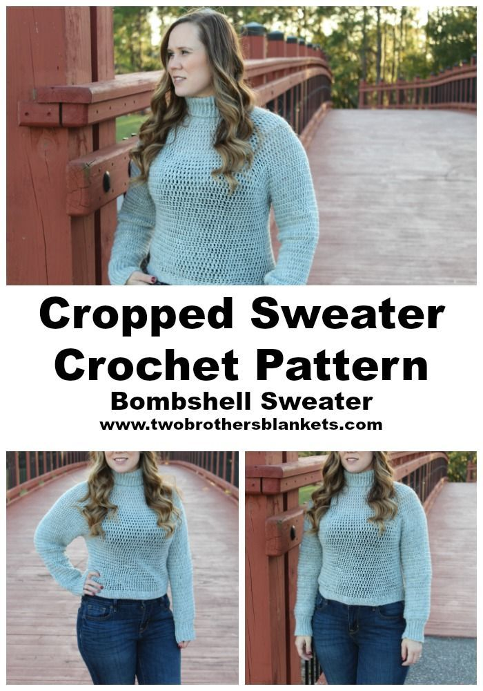 Photo of Bombshell Sweater Crochet Pattern – Two Brothers Blankets