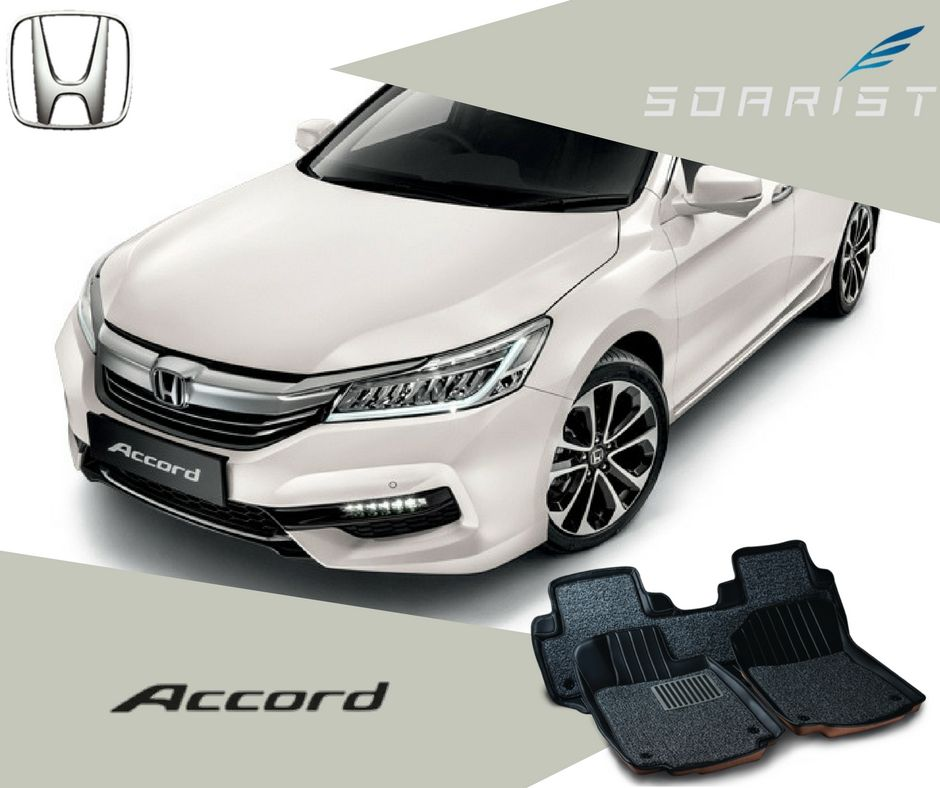 [ RM560 ] Full set Honda Accord floor mat Honda accord