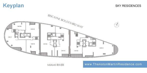 Floor Plan Of Sky Residences In Aston Martin Residences Miami Floor Plans How To Plan Aston Martin
