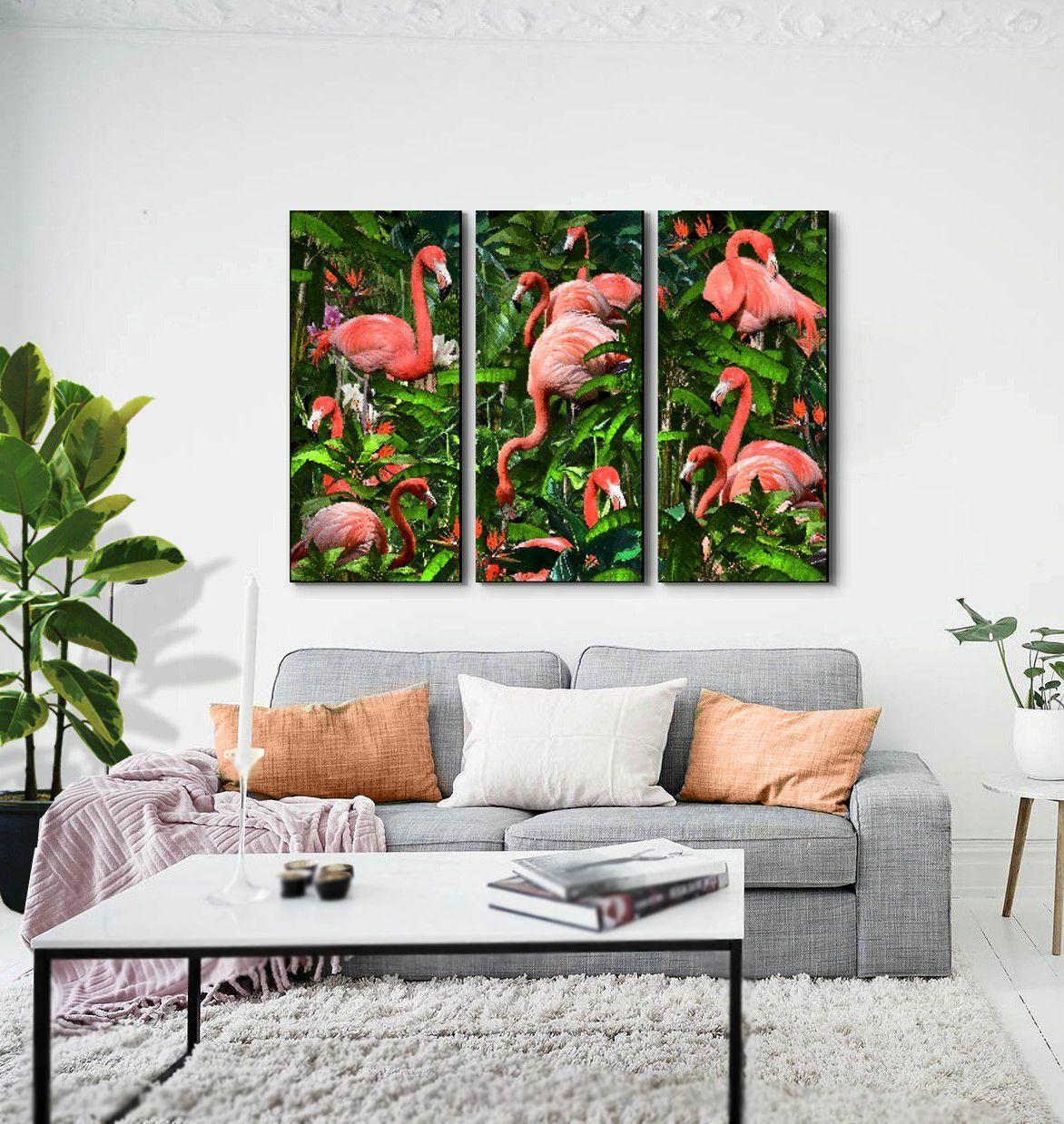ideas decoracion para decorar con cuadros cuadros tripticos de flamencos perfecto para crear un