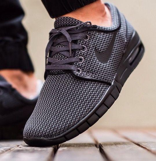 Nike SB Stefan Janoski Max  Dark Grey  Black   7ef631cec