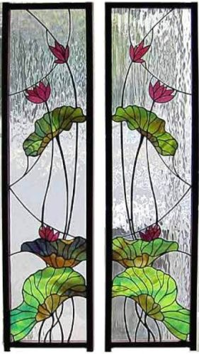 stained glass panels uvres d 39 art dessins de vitraux. Black Bedroom Furniture Sets. Home Design Ideas
