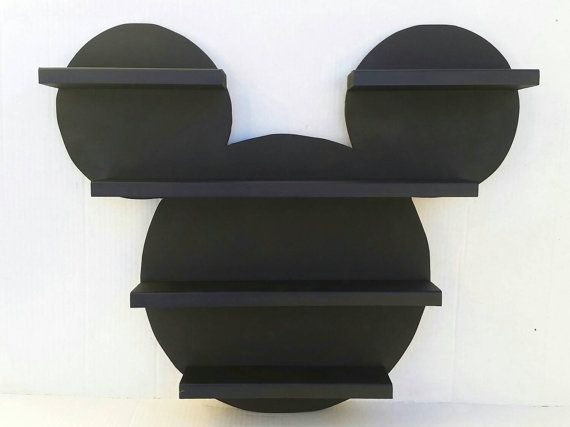 Decorate Your Childrens Room With This Adorable Mickey Mouse Shelf