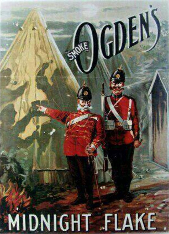 Poster Ogden/'s Midnight Flake Vintage Advertising Print