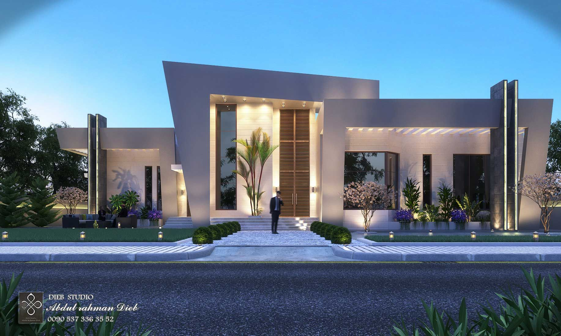 Decoration Villa Moderne S Modern Villa Dieb Studio 7 Commercial Buildings In 2019