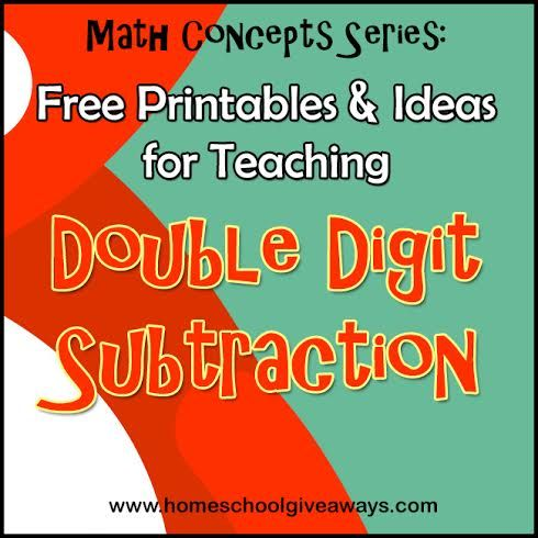 FREE Printables and Ideas for Teaching Double Digit Subtraction ...